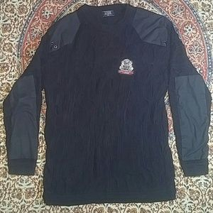 Coogi Authentic Textured XL Sweater w/ Metal Crest
